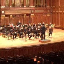 Mark Tse Conducting NEC Symphonic Winds