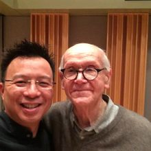 Mark Tse with Frank Battisti