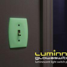 Luminno GlowaSwitch Toggle Plate