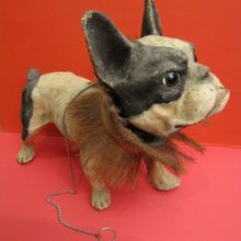 papier mache dog the antique toy shop new york