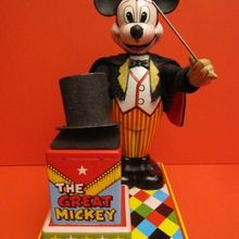 battery operated mickey magician the antique toy shop new york