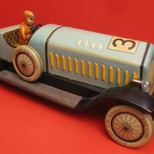 tin racing car the antique toy shop new york