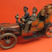 Carette tin wind up car the antique toy shop new york
