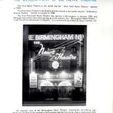 Illuminated News Headlines at The Birmingham News Theatre