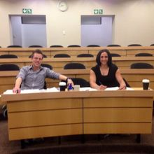 GIBS business plan judging