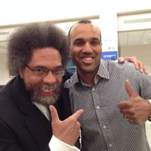 With Dr. Cornel West