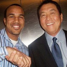 With Robert Kiyosaki at a private event