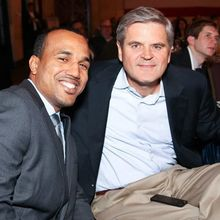 With Steve Case former CEO of AOL