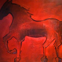 Red Red Horse /SOLD