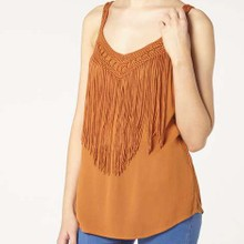 Fringe top manufactured for Dorothy Perkins