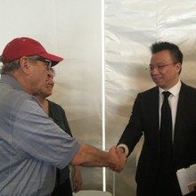Mark Tse with Victor Yampolsky