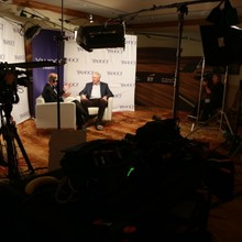 EY Conference- Koch Interview. 3 Camera Shoot.