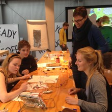 Interactives workshop, Spring House, Amsterdam, 2015