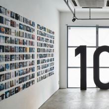 """10"" exhibition by nakada design labo"