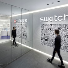 swatch boutique Ginza ( Ginza,Tokyo / 2017 )