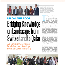 Bringing Knowledge on Landscape from Switzerland to Qatar