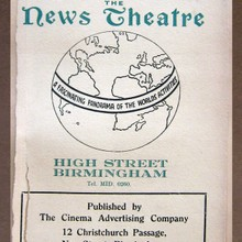 A Monthly Bulletin Published by the News Theatre Birmingham.