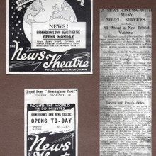 Bristol News Theatre to Open 1934