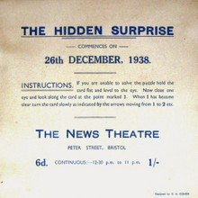 A Puzzle from The News Theatre Bristol Explained