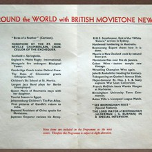 Round the World with British Movietone News