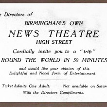 Birmingham News Theatre Free Pass
