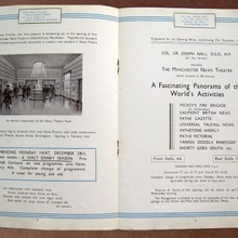 Manchester News Theatre Brochure.