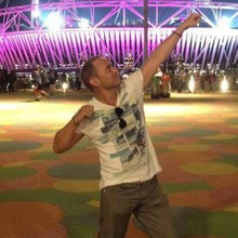 Stuart Grant DJ at the Olympics
