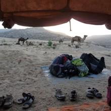 Désert marocain avec notre guide Nabil