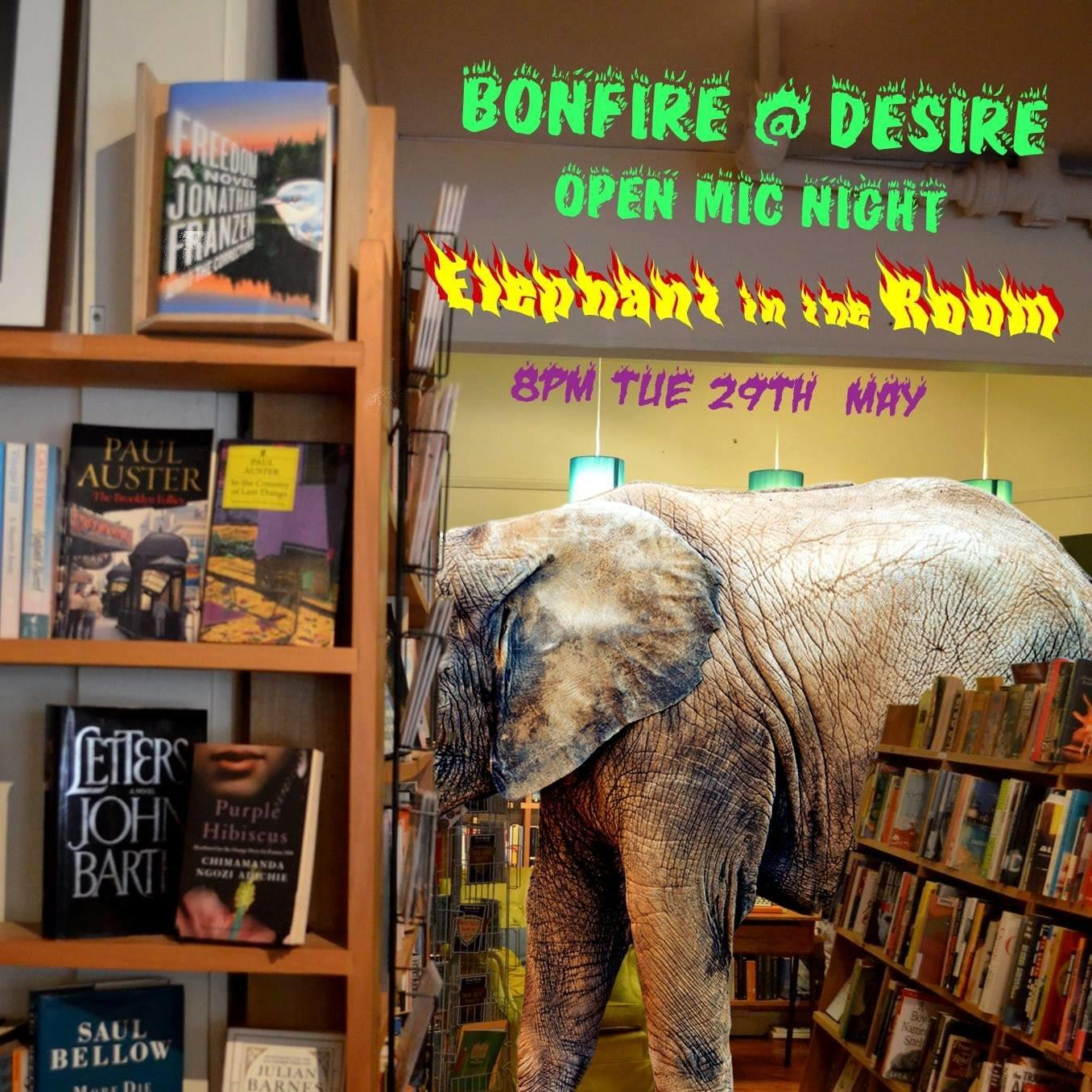 2018 May Bonfire Open Mic night