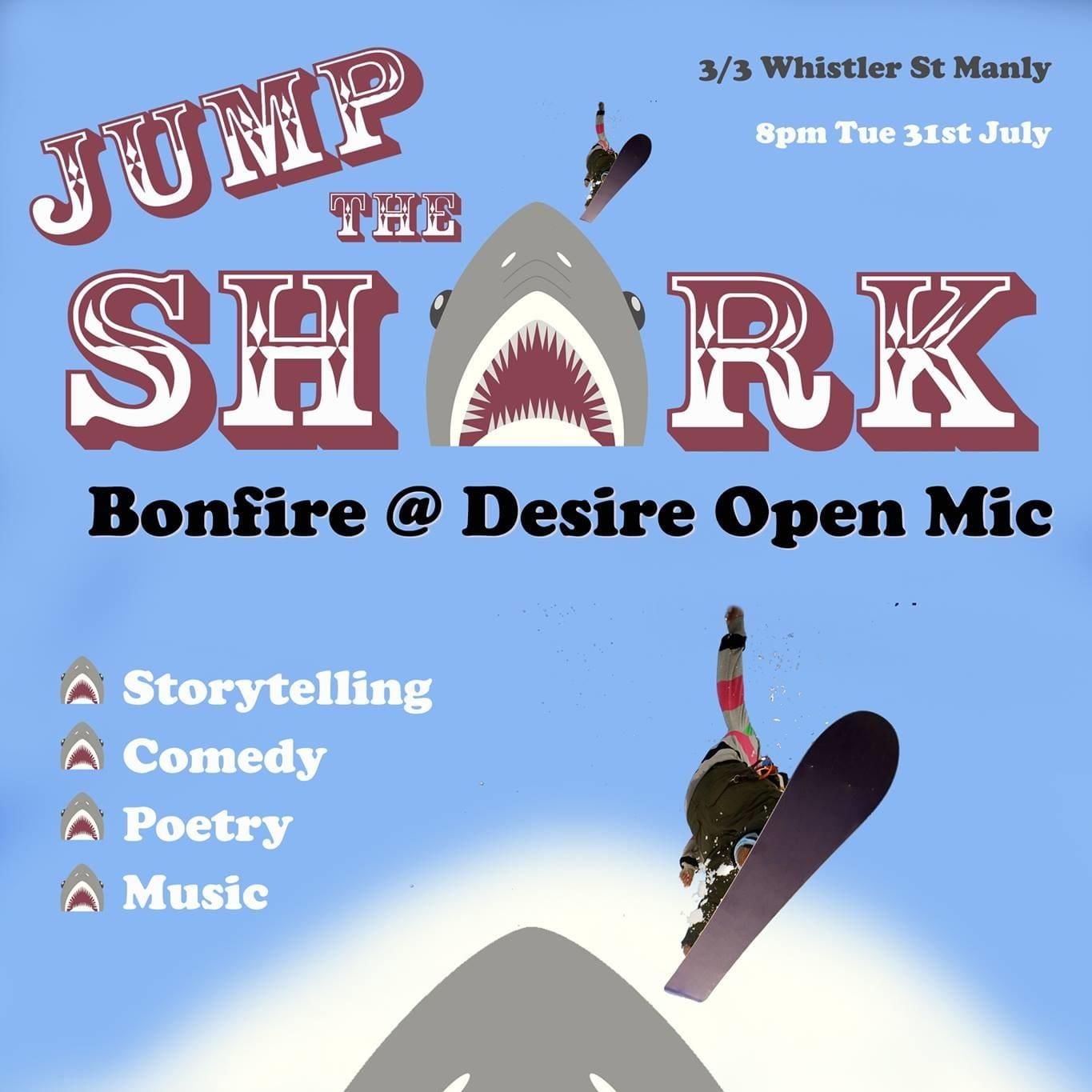 2018 July Bonfire Open Mic nigh
