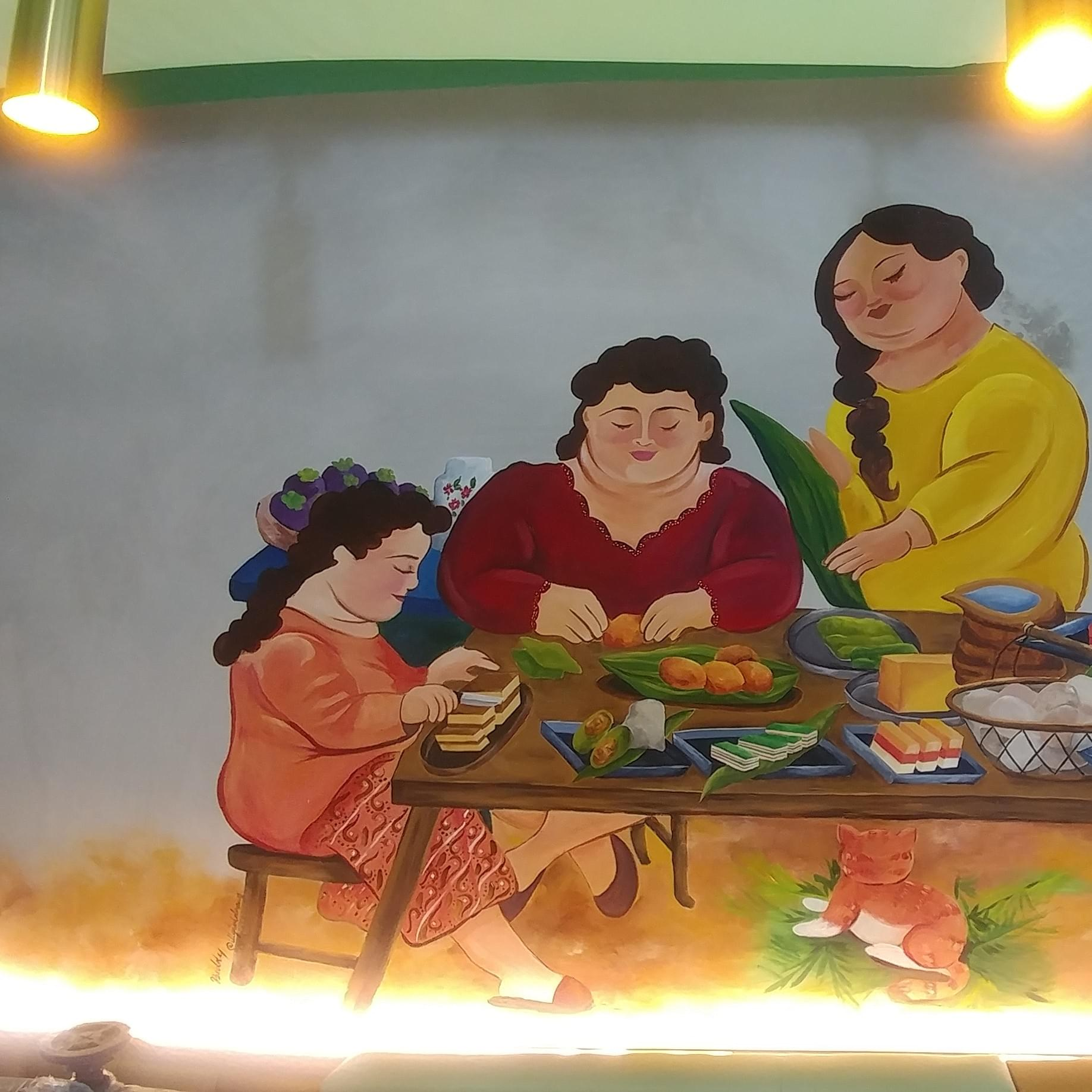 Mural Art for Kueh and Mee