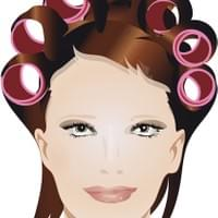 Hairdressing CURLS 'Glamour'