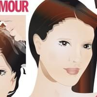 Hair makeover GLAMOUR