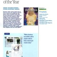 Supplement of the year - Editorial Works
