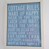 Cottage Rules at Whitfield Six