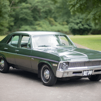 1971 forest green Chevy Nova