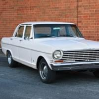 1965 Chevy Nova three-quarter front angle