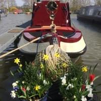 The Beer Boat on the mooring