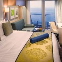 Balcony suite room on Holland America Line