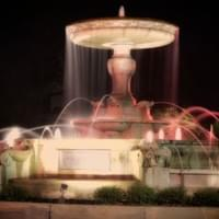 Historic Downtown Wilmington, Kenan Memorial Fountain. Wilmington, NC