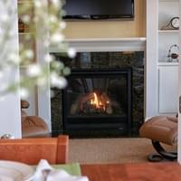 Fireplace Real Estate Photography