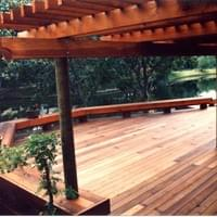 A properly sealed deck & arbor can increase the value of your home & provide a beautiful outdoor space for entertaining.