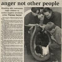 Warrior Kids beat their anger not other people.