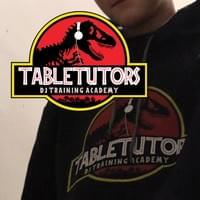 Black TableTutors Jurassic Scratch Hoody