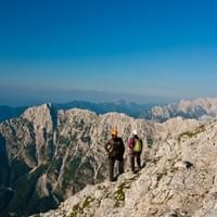 Via-ferratas, Slovenia, Self guided