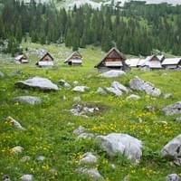 Self guided hut-to-hut hiking tour, Slovenia