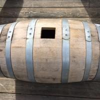 Converted vinegar barrel