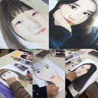 Various Artists (Soft Pastel Self Portrait)