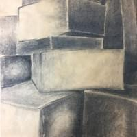 Kim Johnson Lozano (Observational Charcoal Drawing)