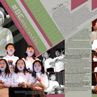 Kim Johnson Lozano (yearbook Design)